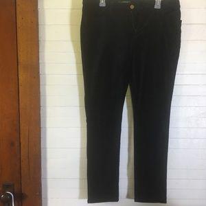 Lauren Ralph Lauren Black Velvet Pants/ Jeans